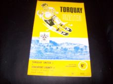 Torquay United v Stockport County, 1967/68